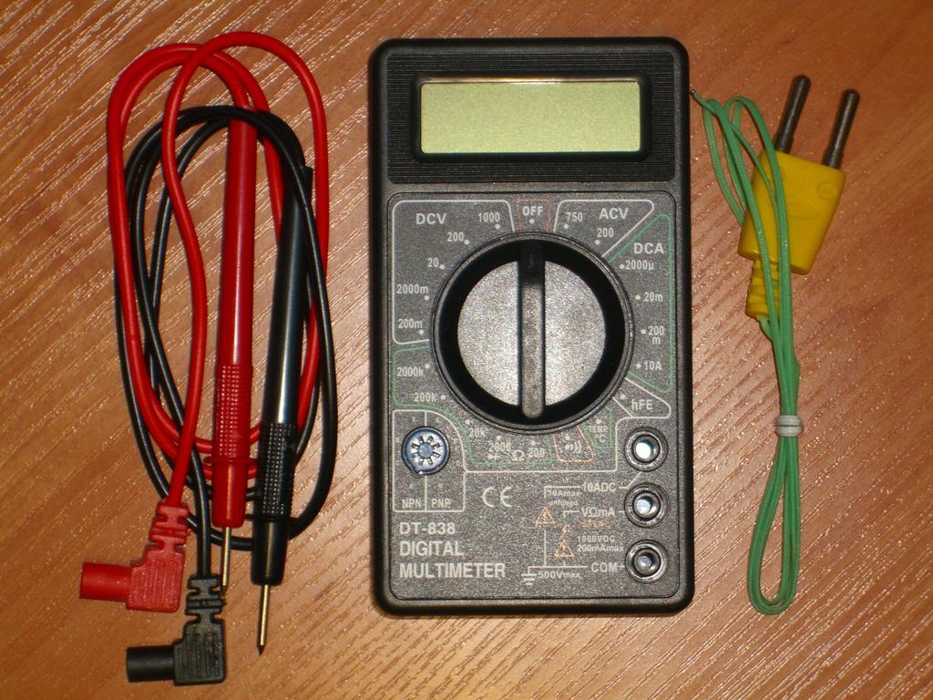 мультиметр dt 838 инструкция видео